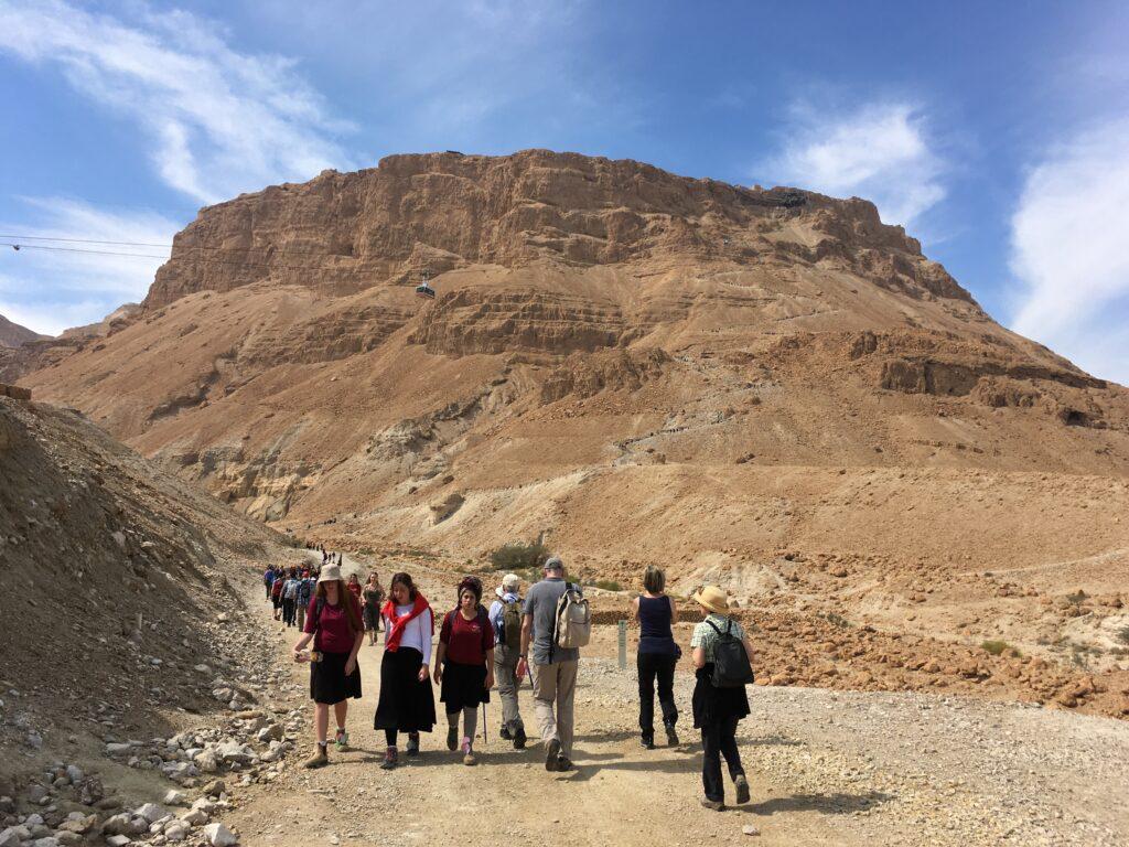 Felsenfestung Masada